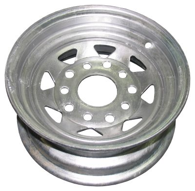 "10"" Holden and Ford Stud Pattern Galvanised RIM"