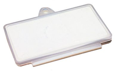 Registration Label Holder Clear