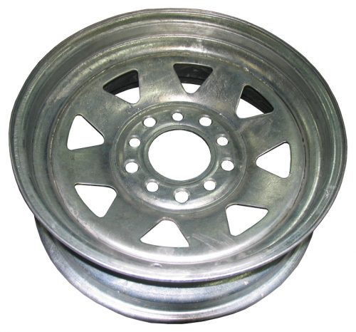 "13"" Multi fit Holden and Ford Stud Pattern Galvanised RIM"