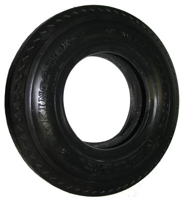 "8"" x 4.00 Light Truck Trailer Tyre and Tube"