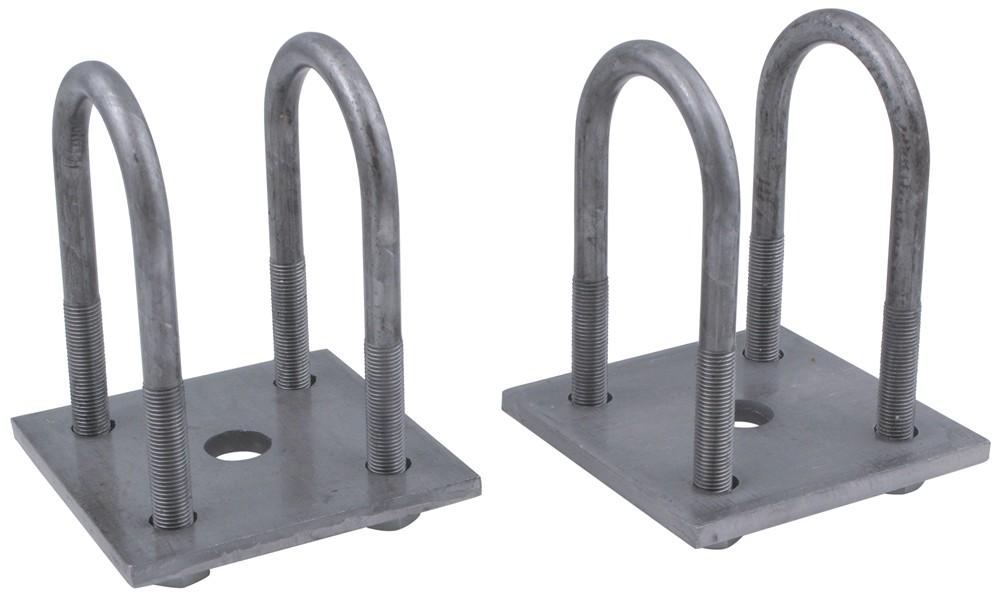 Axle to spring mounting kit round