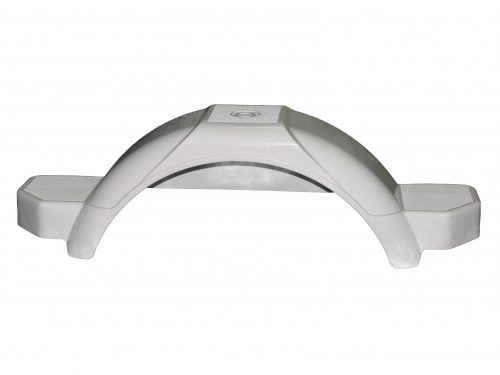 Mudguard White to suit 10 inch wheel