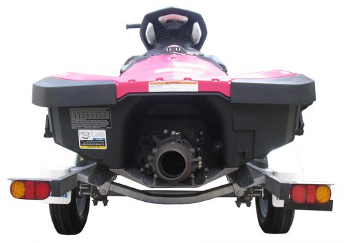 Spark Jet Ski Trailer Single Rear View