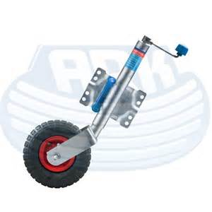 Jockey Wheel ALKO 10 inch Swing up Pneumatic Wheel