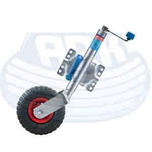 Jockey Wheel ALKO 10 inch Swing up Pneumatic Wheel